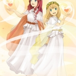120729: As Harmonia Sisters ~ Mariel and Morie